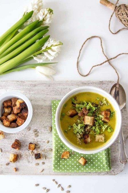wirsing rezept f r eine cremige suppe mit curry heimgemacht blog. Black Bedroom Furniture Sets. Home Design Ideas