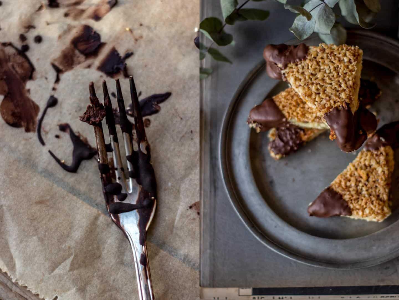 Schokoladige Adventsbäckerei