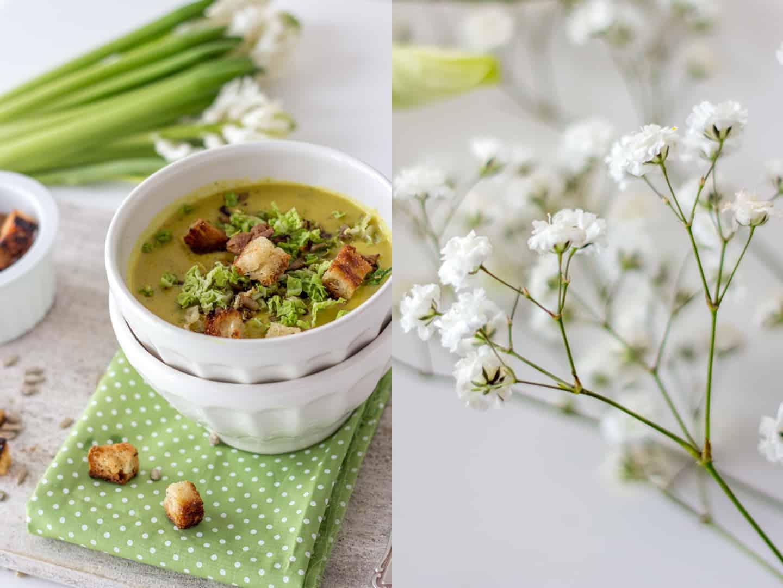 Wirsing Rezept für eine cremige Suppe mit Curry