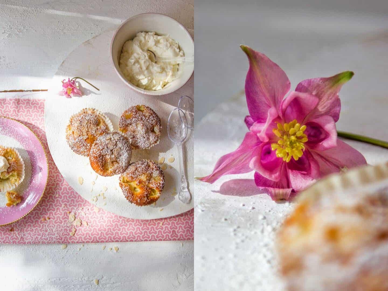 Rhabarbermuffins, mein Saionrezept